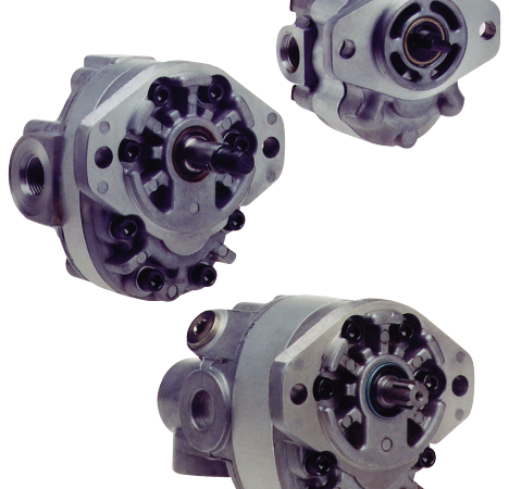 Fixed Displacement Gear Pumps -DHD